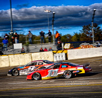 Lake Erie Speedway Sept 2017 RoC 250 Alex & Helen Bruce