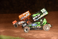 Lernerville Don Martin Memorial Silver Cup 7/18/17 Paul Arch
