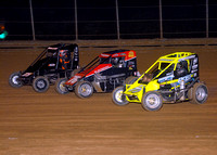 7-1-17 Lanco Clyde Martin Memorial Speedway ARDC/USAC Midgets and 270 and 600 Micro Sprints - Lee Greenawalt photography