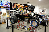 8/2/17 Sammy Swindell Display at Nat. Sprint Car Hall of Fame + Museum Paul Arch